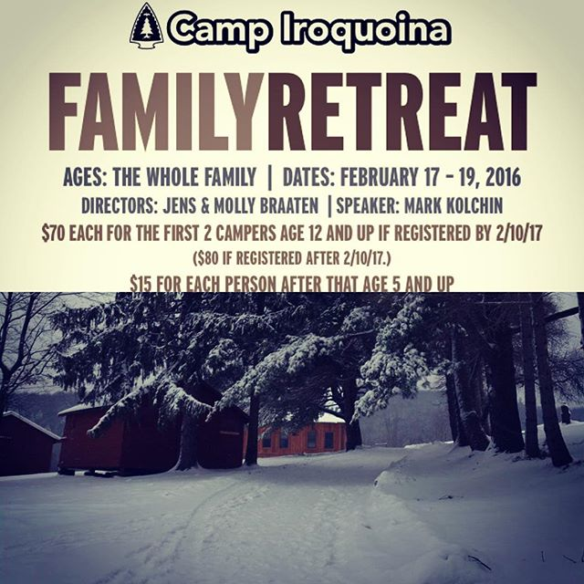 Family Retreat this weekend! Please join us in praying for
