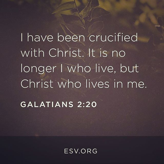 Great reminder that christ lives in us as believers because of great reminder that christ lives in us as believers because of that we can altavistaventures Image collections